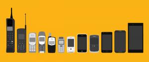 Evolutia in timp a telefonului: Then&Now