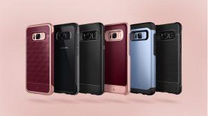 Caseology, protectie cu stil pentru Samsung Galaxy S8/S8+