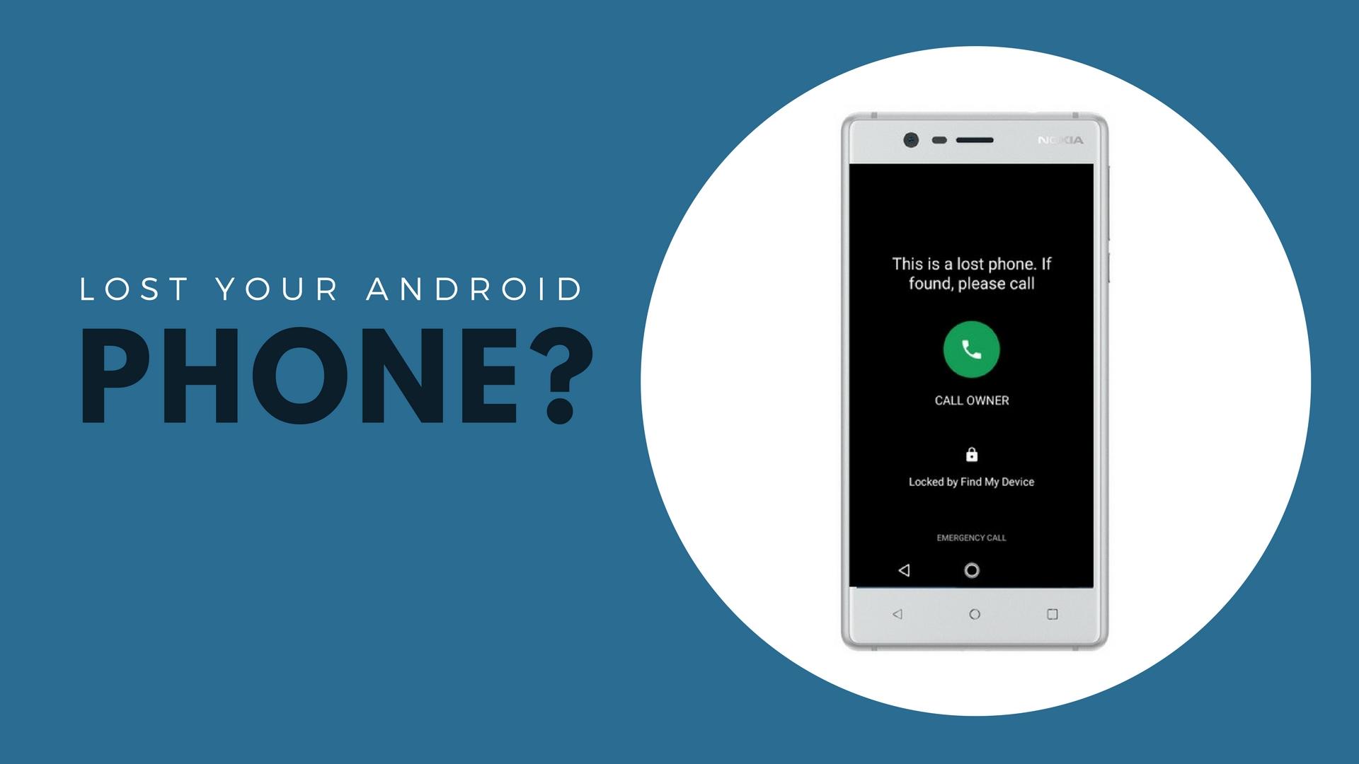 Localizare Telefon Pierdut Android