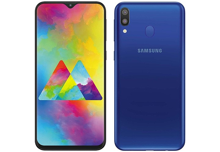 Galaxy M20 telefon accesibil