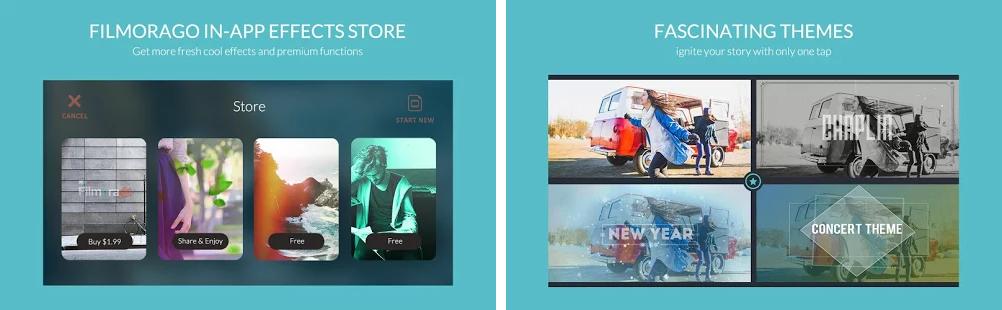 filmorago - aplicatii de editat video