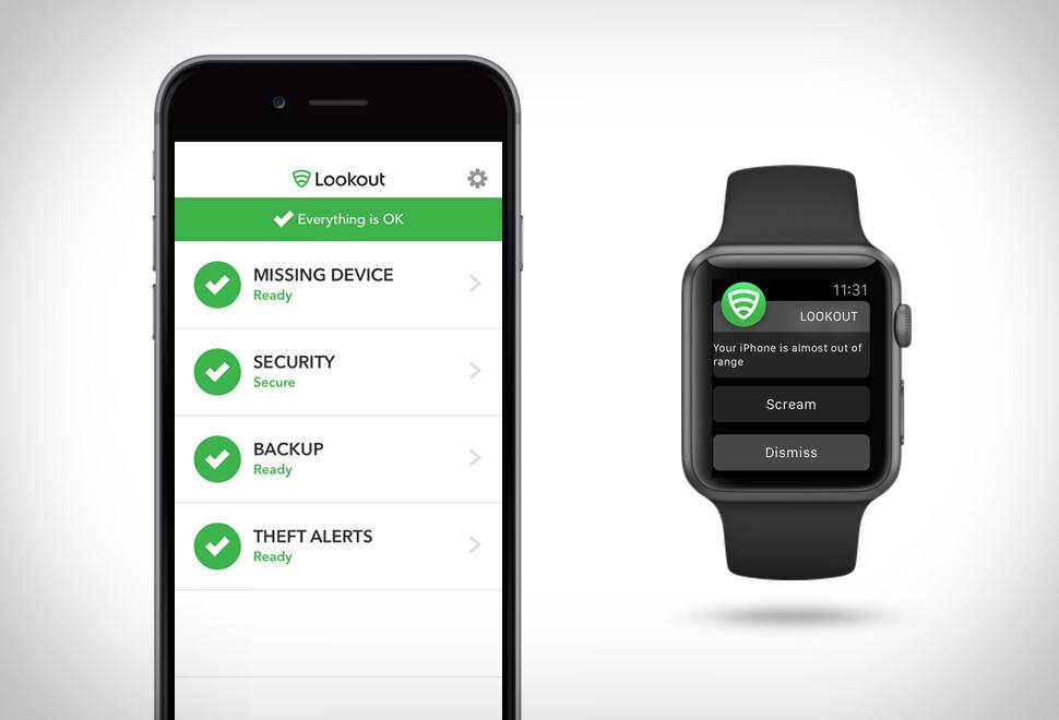 lookout - aplicatii iphone
