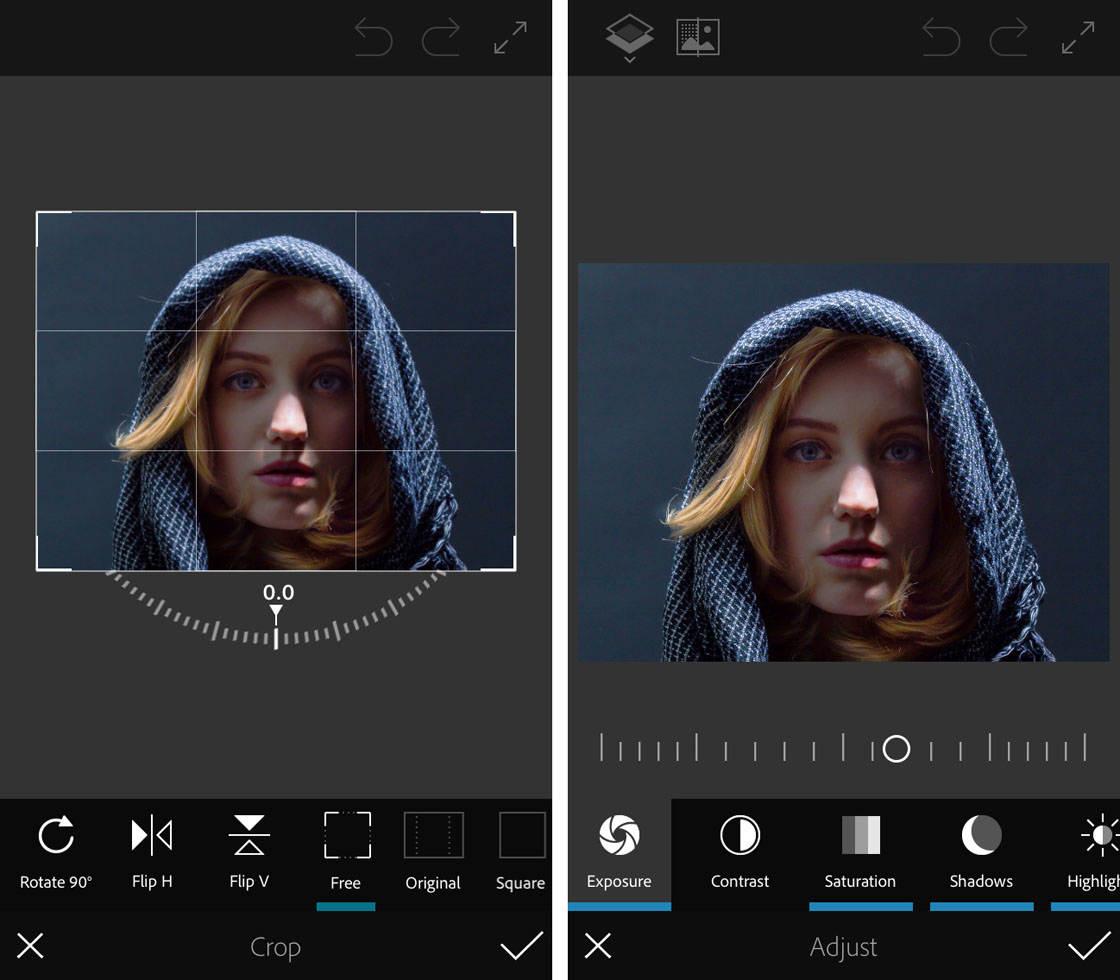 photoshop fix aplicatii iphone