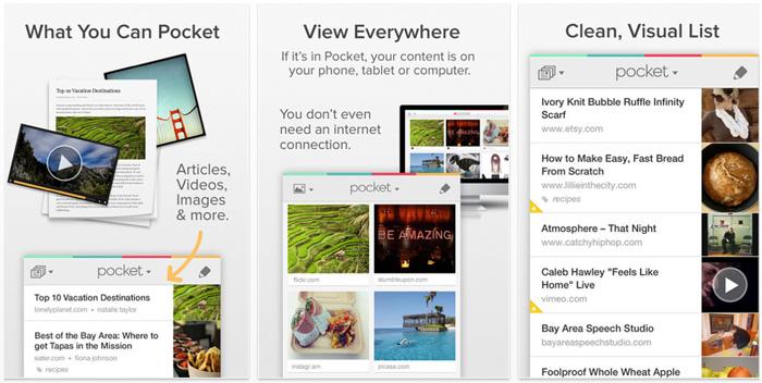pocket aplicatii iphone
