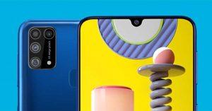 Lansare Samsung Galaxy M31