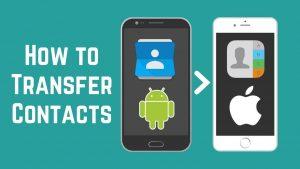 Cum sa transferi contacte de pe iPhone pe Samsung