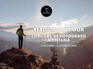 Start campanie #ErouInOutdoor – drumeție și alergare // 6 noiembrie – 6 decembrie