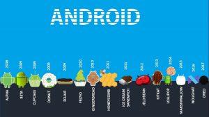 Versiuni Android – lista completa