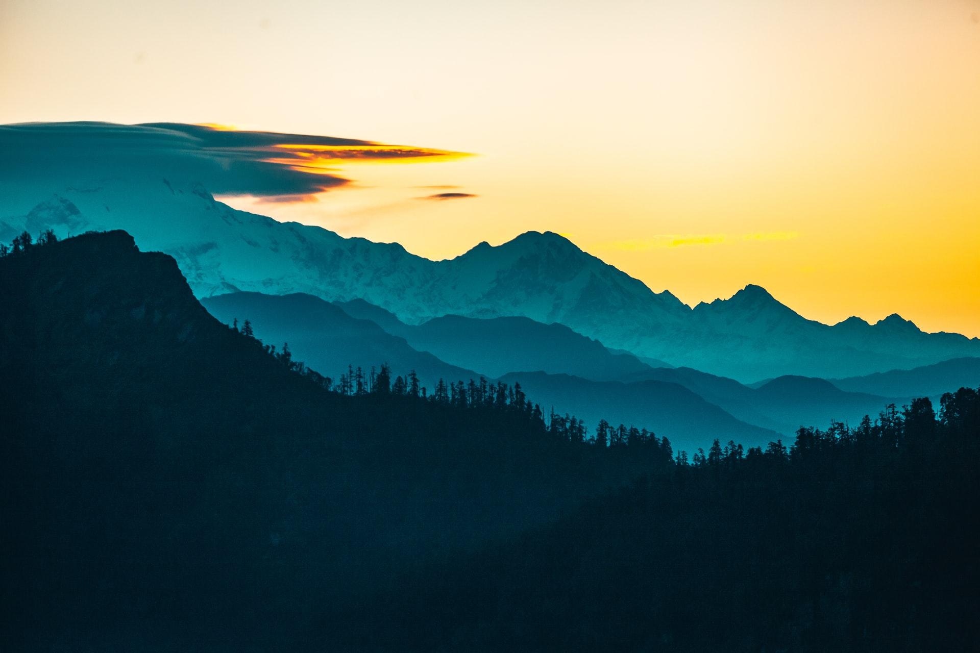 alergarea pe munte